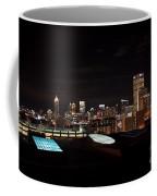 Night Lights Of Atlanta Coffee Mug
