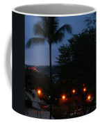Night Lights On The Mountain Coffee Mug