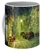 Night Scene In Sicily 2 Coffee Mug