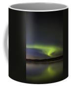 Night Shot Northern Lights Coffee Mug