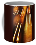 Night Traffic Coffee Mug by Carlos Caetano