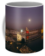Night View Of Amritsar Coffee Mug