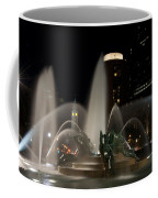 Night View Of Swann Fountain Coffee Mug by Bill Cannon