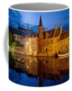 Nighttime Brugge Coffee Mug
