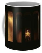 Nighttime View Of The Illuminated Coffee Mug