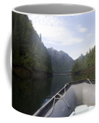 Nobody,boats, Ropes, Islands,horizontal Coffee Mug by Taylor S. Kennedy