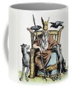 Norse God Odin (woden) Coffee Mug
