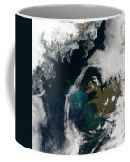 North Atlantic Bloom Coffee Mug by Science Source