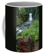 North Falls In Oregon Coffee Mug