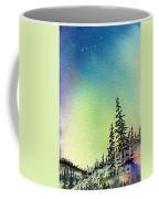 Northern Lights - D Coffee Mug