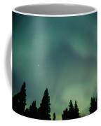 Northern Lights, Birds Hill Provincial Coffee Mug