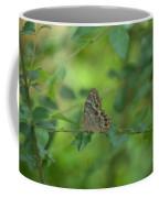 Northern Pearly Eye Butterfly Coffee Mug