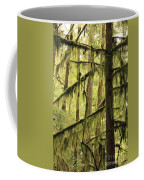 Northwest Mossy Tree Coffee Mug