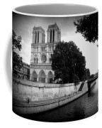 Notre Dame Along The Seine Coffee Mug