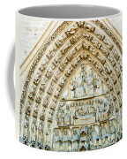 Notre Dame Cathedral Center Entry Coffee Mug