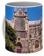 Notre Dame Cathedral Rose Window Coffee Mug
