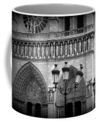Notre Dame With Luminaires Coffee Mug