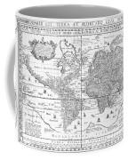 Nova Totius Terrarum Orbis Geographica Ac Hydrographica Tabula Coffee Mug