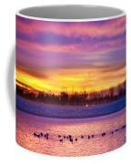 November Lagerman Reservoir Sunrise  Coffee Mug by James BO  Insogna