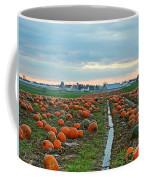 November Pumpkins Coffee Mug