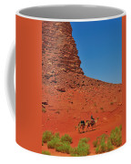 Nubian Camel Rider Coffee Mug by Tony Beck