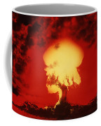 Nuclear Explosion Coffee Mug