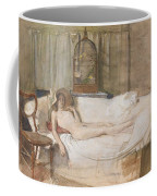 Nude On A Sofa Coffee Mug