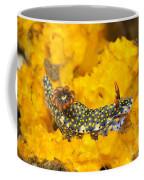 Nudibranch On Sponge Coffee Mug