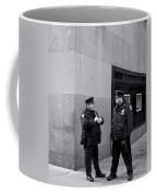 Ny Beat Cops Holding The Banana Republic Coffee Mug