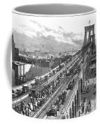 Ny: Brooklyn Bridge, 1883 Coffee Mug