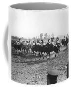Ny Police Fencing On Horseback Coffee Mug