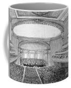 Nyc: Carnegie Hall, 1891 Coffee Mug