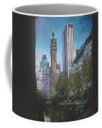 Nyc Central Park 2 Coffee Mug by Ylli Haruni