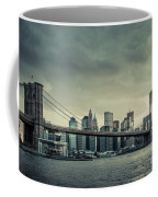 Nyc Skyline In The Sunset V2 Coffee Mug