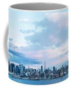 Nyc-sundown Blue I Coffee Mug