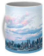 Nyc Sundown Blue II Coffee Mug