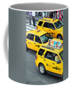 Nyc Yellow Cabs Coffee Mug