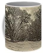Oak Alley 3 Antique Sepia Coffee Mug