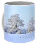 Oak In Snow Coffee Mug