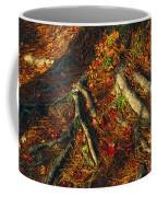 Oak Tree Roots And Pine Needles Coffee Mug by Raymond Gehman