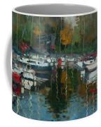 Oakville Harbour On Coffee Mug