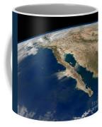 Oblique View Of Baja California Coffee Mug