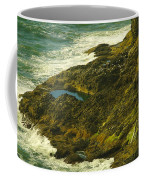 Ocean Pounded Rock  Coffee Mug