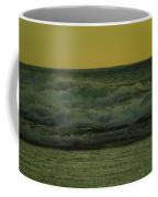 Ocean Waves Coming In Near Sunset Coffee Mug