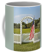 Ocracoke Lighthouse July 4th Coffee Mug by Bill Swindaman