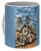 Of Mountain And Machine Coffee Mug