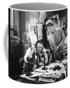 Office Scene, 1920s Coffee Mug