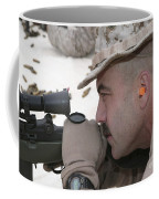 Officer Sights In On The Target Coffee Mug