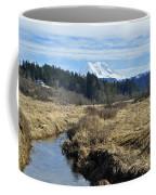 Ohop Valley View Of Rainier Coffee Mug