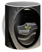 Oil Valve Cap Coffee Mug